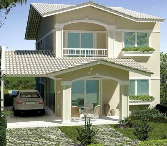 Premoldeada buscar con google frente casa pinterest for Patios de casas modernas
