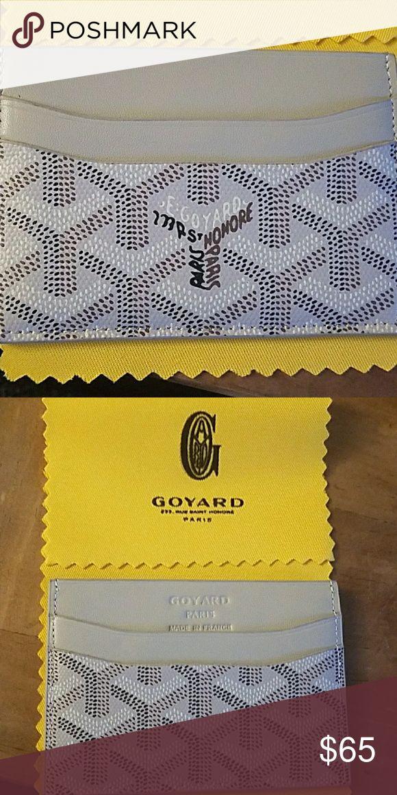 Goyard card holder Brand new ..just like original Goyard Accessories Key & Card Holders