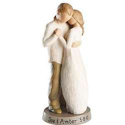 Willow Tree Personalized Promise Couple Figurine