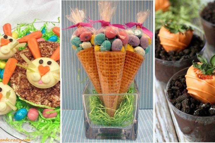 Offrez des carottes à vos petits lapins de Pâques! 20 idées à voir!