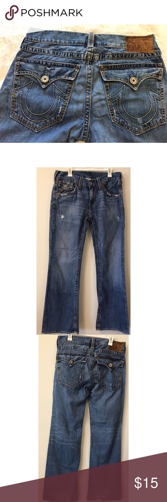 Men's True Religion Jeans • 34 -Bundle & save!!  -Check out my other listings for more great deals!  -NO TRADES OR HOLDS -I try my best to do next day shipping  ❌❌❌PLEASE DO NOT BUNDLE ANY OF THE LOTS TOGETHER, the shipping weight will be over the limit and I will cancel your order. If you have any questions  - please ask!  ❌❌❌ True Religion Jeans Bootcut