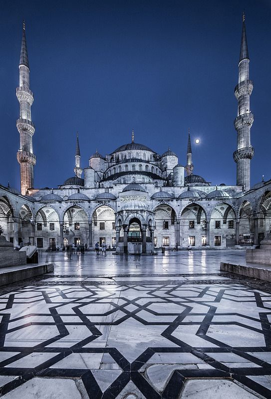 Sultan Ahmed Mosque aka Blue Mosque, Istanbul #