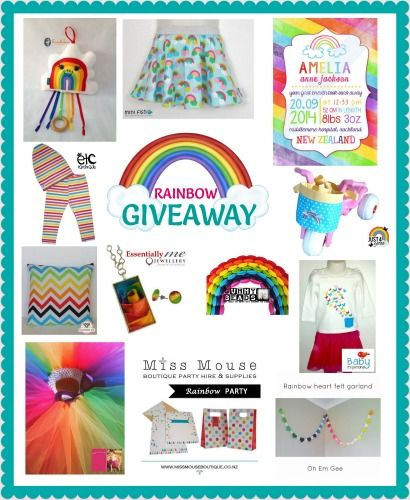Enter to win: Rainbow Giveaway | http://www.dango.co.nz/s.php?u=eYpKU8LF2034