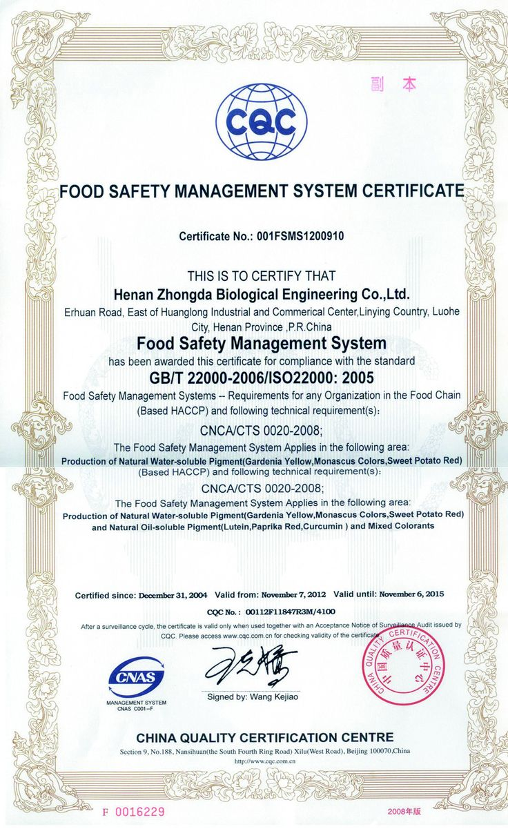 70 best haccp images on pinterest food networktrisha food haccp certificate pronofoot35fo Gallery