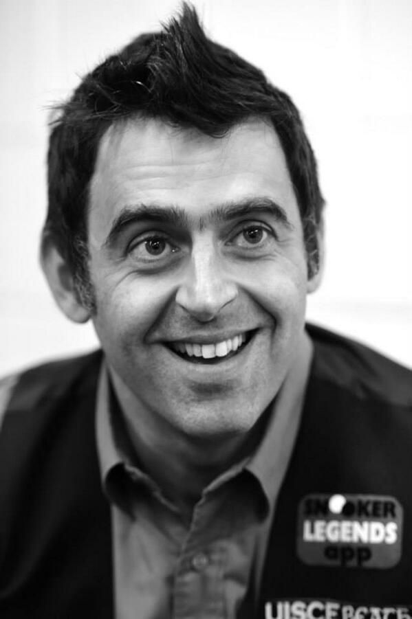 Got the chance & had the pleasure of meeting this man Ronnie O'Sullivan in York Barbican centre