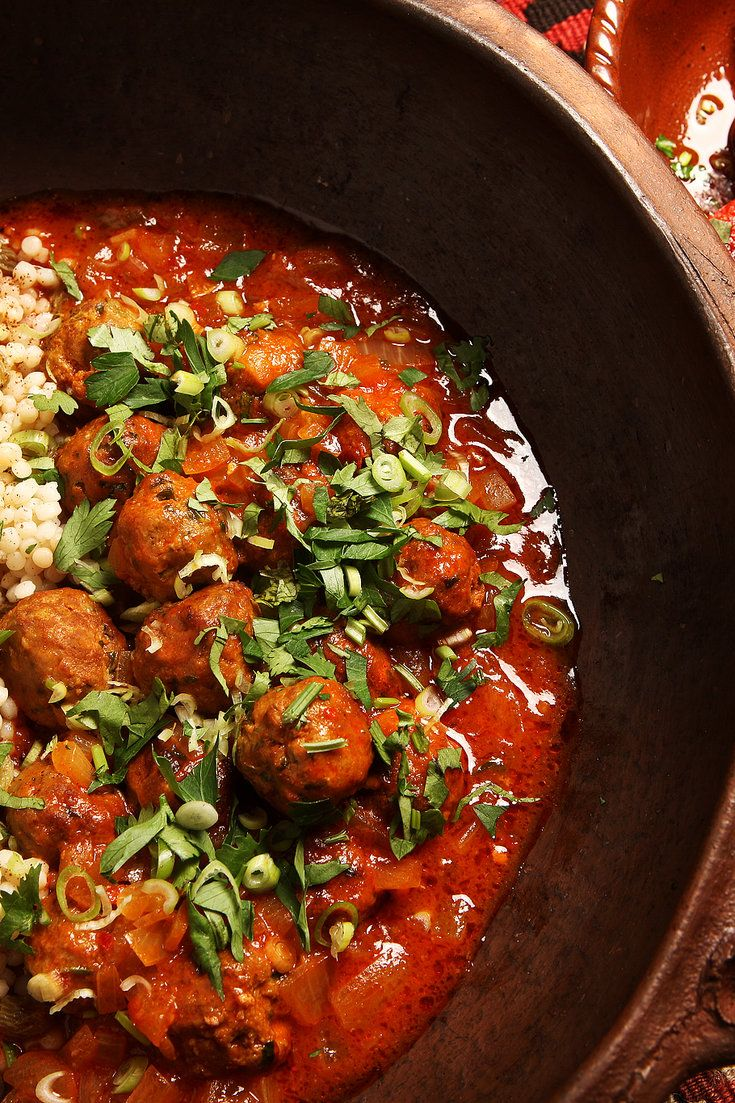 NYT Cooking: In France, meatballs are called boulettes, and by far the favorite versions are the spice-scented North African type. Most of the neighborhood Tunisian and Moroccan restaurants in Paris offer them, served as an appetizer or a side, or in a fragrant main-course tagine with couscous. <br/><br/>This recipe is an amalgam of several that I found on my bookshelf, among them one ...