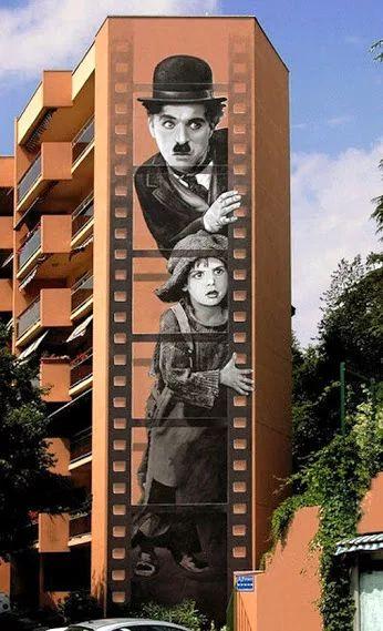 Фото: Patrick Commecy, Франция, художник фасадов домов... = стритарт