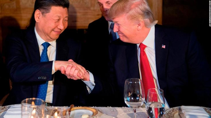 President Donald Trump, during a freewheeling speech to Republican donors in Florida on Saturday, attacked his former presidential rival Hillary Clinton, one of his predecessors in President George W. Bush, and praised China's President Xi Jinping for his recent move eliminating term limits.