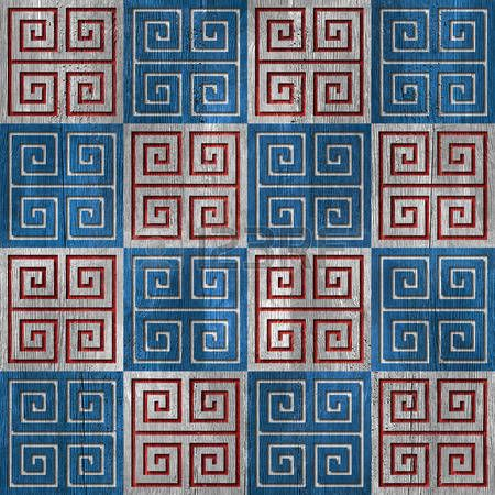 wood paneling: Abstract pattern pannellatura - seamless - bianco-blu - struttura di legno