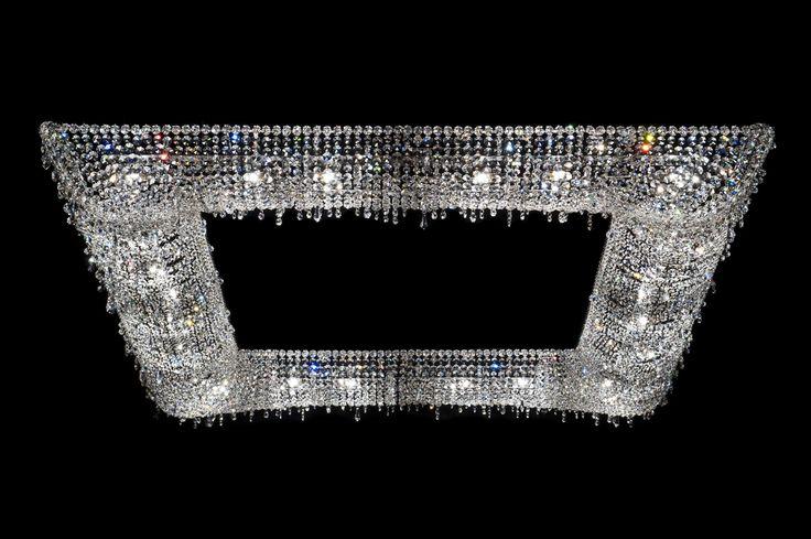 KOI Crystal pendant lamp by Manooi #Manooi #Chandelier #CrystalChandelier #Design #Lighting #Koi #luxury #furniture