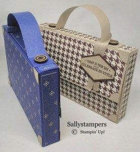 Chocolate man bag | Search Results | Sallystampers
