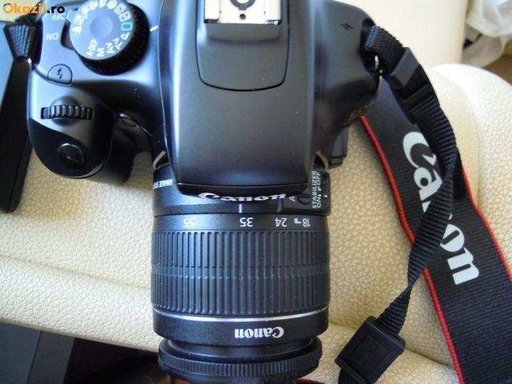 DSLR Canon EOS 1100 D+obiectiv+accesorii                                                                                                                                                                                 More
