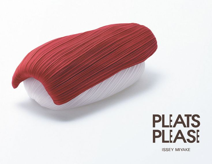 ads for Issey Miyake's Pleats Please