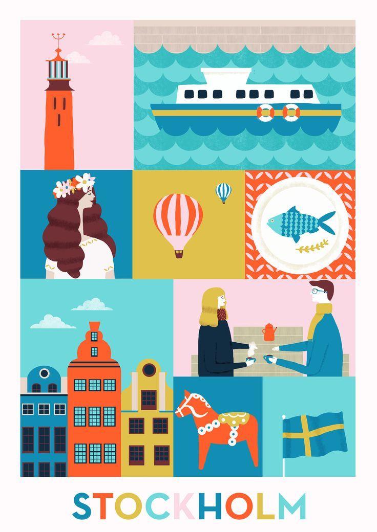 Stockholm by Naomi Wilkinson