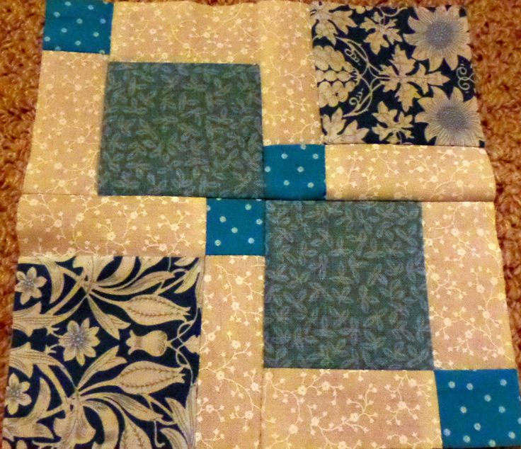 The April edition of SIPIDI! over at Sugar and Scrap ~ Disappearing 9 patch blocks