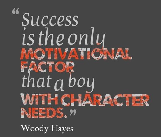 Ohio State Buckeyes Football-Quotes-Pictures-Woody Hayes-Woody Hayes Quotes-Inspirational Quotes-Football Quotes-Buckeye Quotes-Ohio State Buckeye Football. Motivational Quotes And Sayings. Motivation. Like And Repin If You Agree With This Woody Hayes Motivational Quote.
