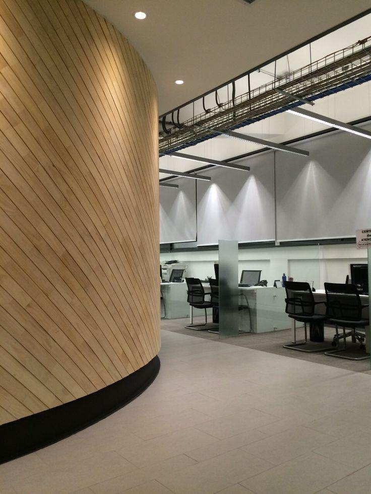 Oficinas Banco de Chile / S3 Schmidt Arquitectos / Greene During Iluminación/ Somarriva -Da Bove Interiorismo