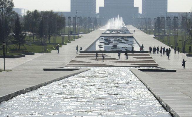 LOOS van VLIET / Niek Roozen - Central Park Hunnan Axis, Shenyang
