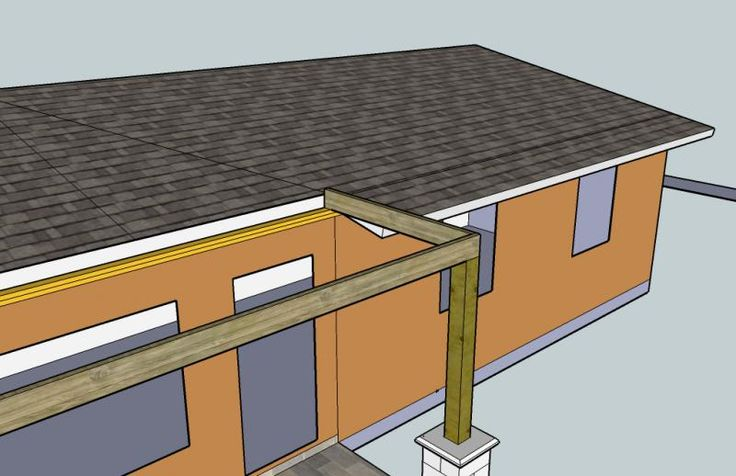 framing porch to have a gable roof - DIY Home Improvement, Remodeling Repair Forum