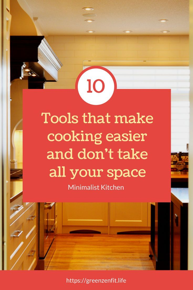Only got 1sq foot in your kitchen? After massively decluttering our home, here's the essential kitchen tools that stayed. For all minimalists, but not only.
