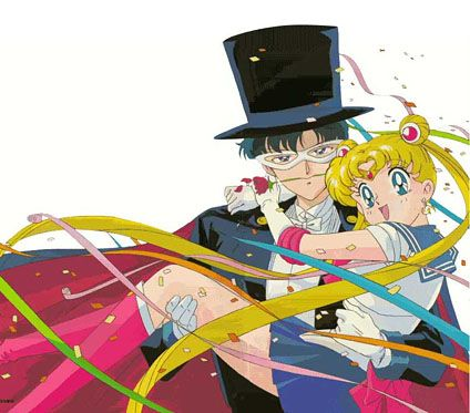 If you are a Sailor Moon fan who isn't in love with Tuxedo Mask... You might be insane.