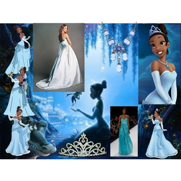 "Princess Tiana Dress: ""Tiana Blue Dress"" By Martasmiling On Polyvore"