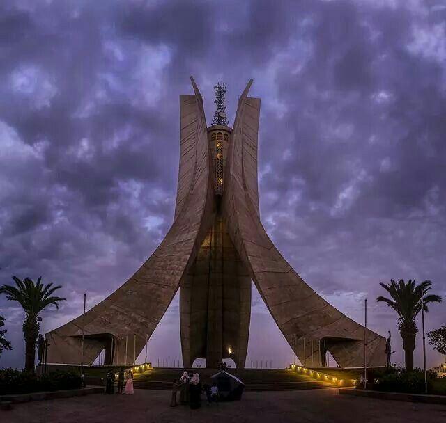 Alger Algérie Djazair Makam El Chahid Mémorial du Martyr