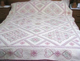 Candlewick quilt...I wanna try this!!