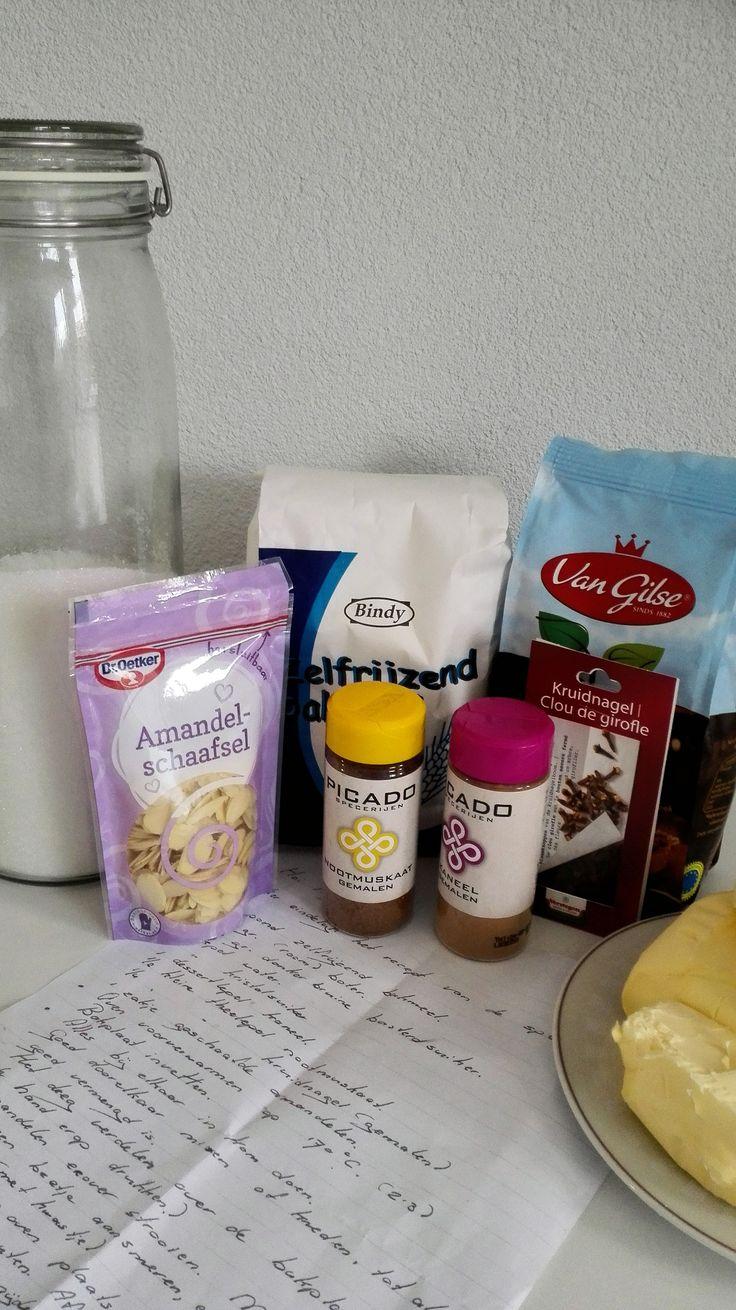 ingrediënten speculaas recept