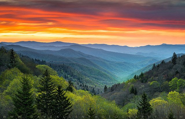 "jswanstromphotography: ""Great Smoky Mountains National Park Gatlinburg TN Scenic Landscape by Dave Allen Photography on Flickr. """