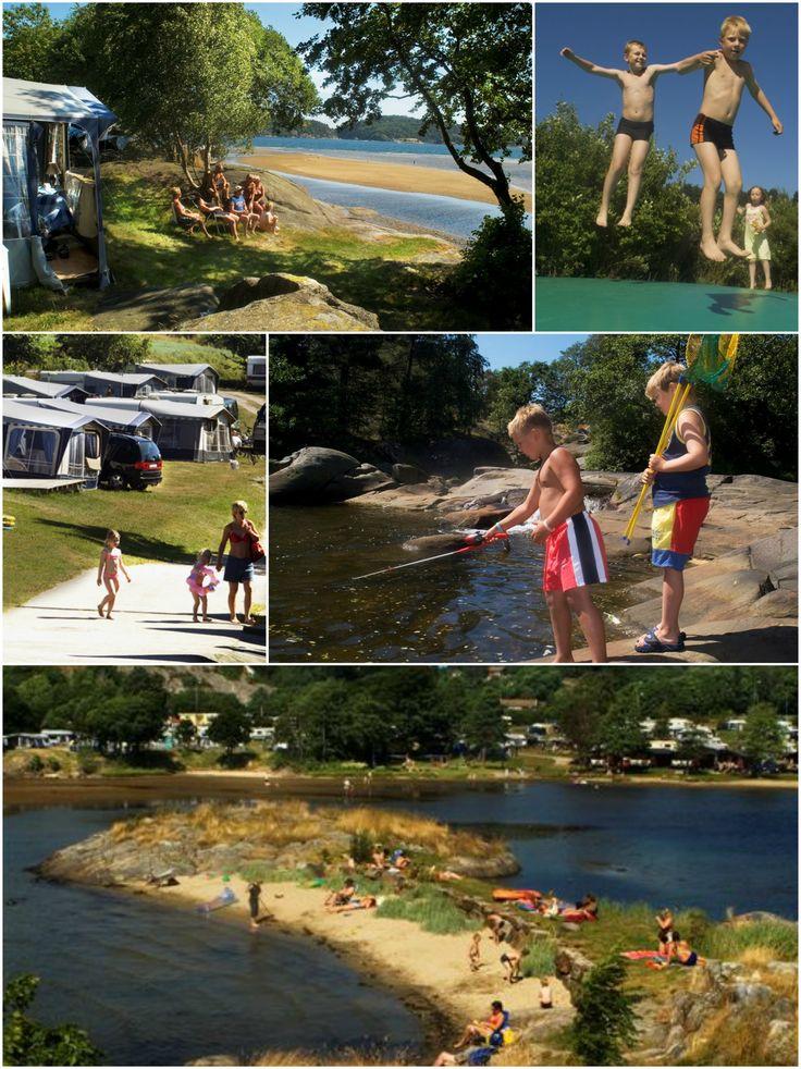 Tingsaker Familiecamping - Lillesand - Norway (Norge)