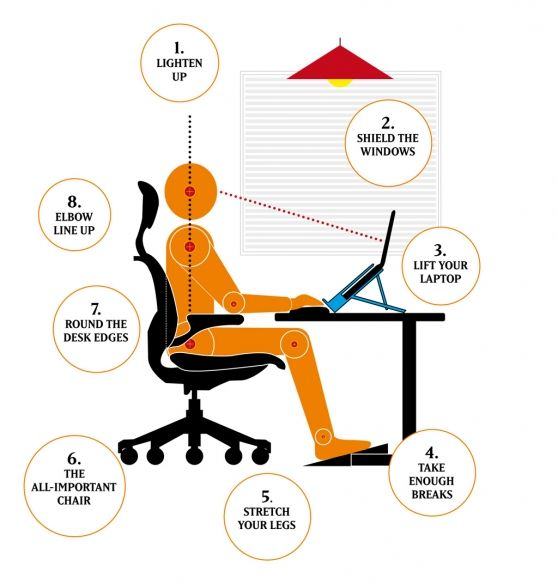 VISI / Articles / 8 ways to sit straight