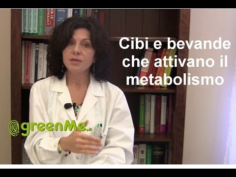 10 cibi accelerazione metabolismo