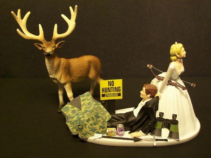 Bow Hunting Wedding Cakes