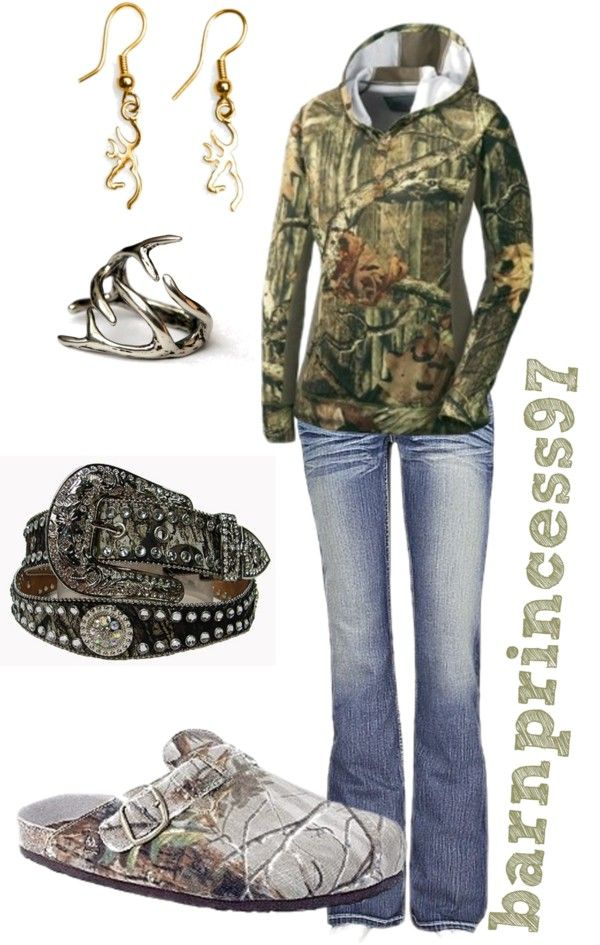 """Simple, Cute & Camo"" by barnprincess97 on Polyvore:"