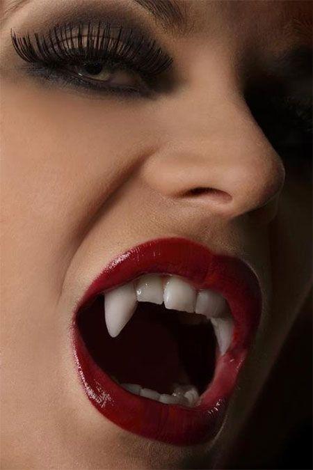 Halloween Vampire Make Up