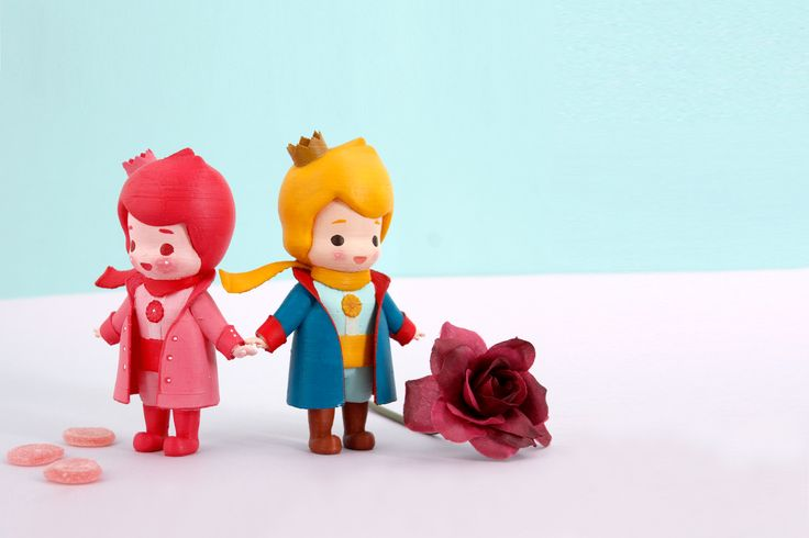 Color 3D printed art toy with your style !! The Little Prince!  This can be a your fancy hobby :D #Arttoy #3Dprinting #DIY #Coloring #littleprince #RADON