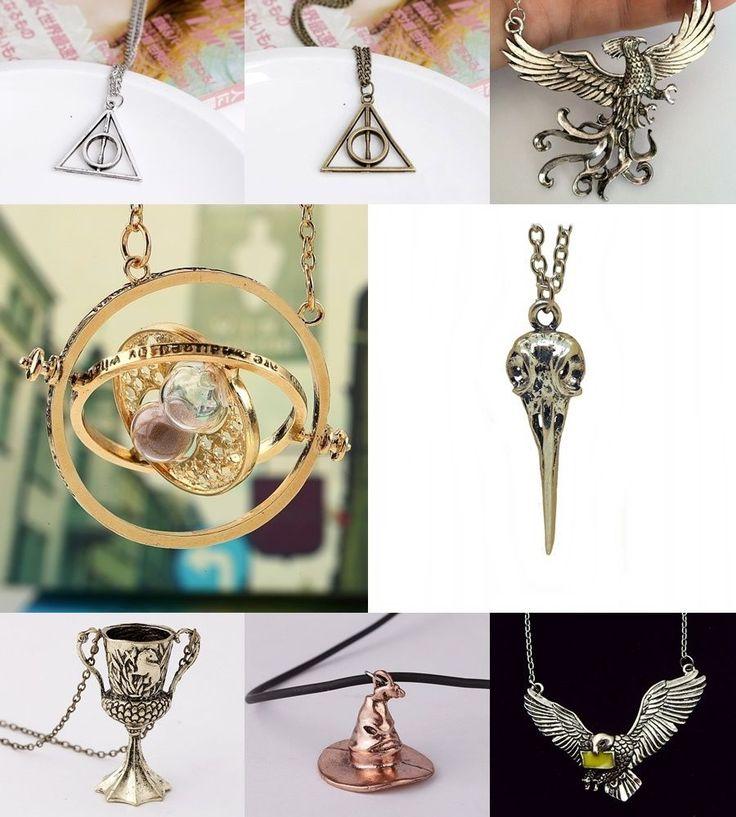 Halskette Harry Potter ZEITUMKEHRER, Sprechende Hut, Heiligtümer des Todes #1# | Uhren & Schmuck, Modeschmuck, Halsketten & Anhänger | eBay!