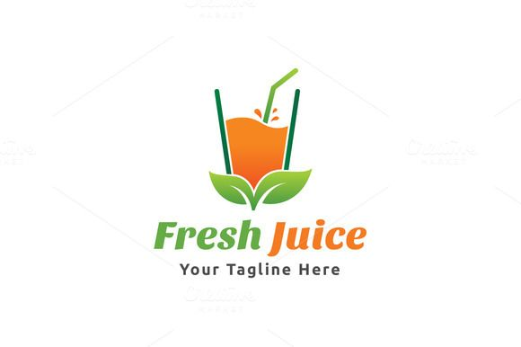 Fresh Juice Logo by Martin-Jamez on Creative Market