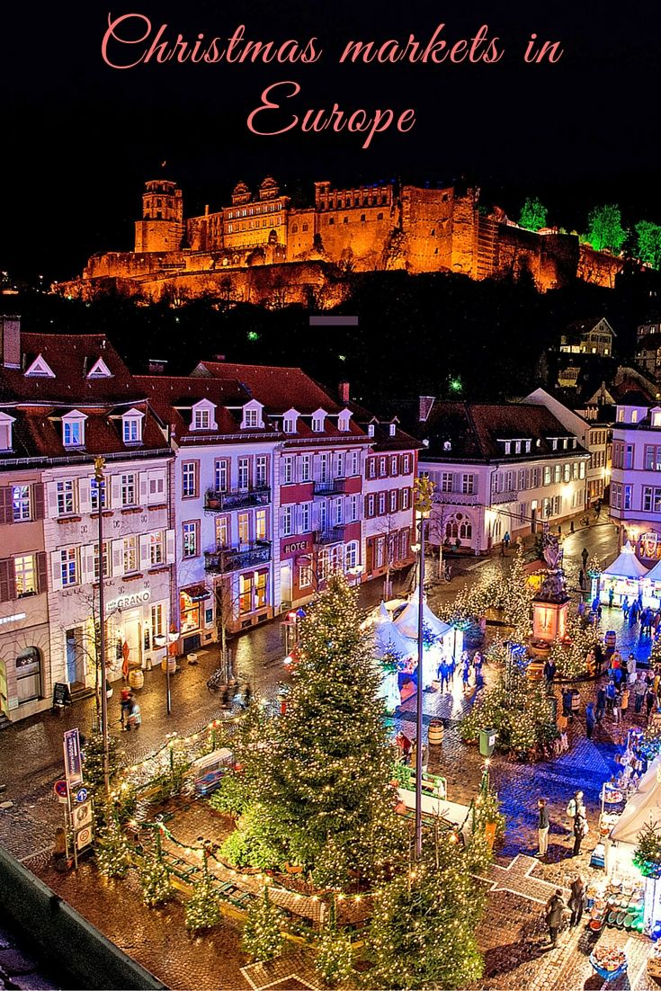 christmas markets in europe - Best European Cities For Christmas