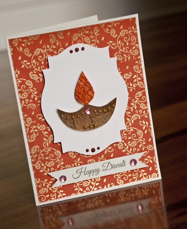 DIY Diwali Cards | Mail your loved ones with these beautiful cards !
