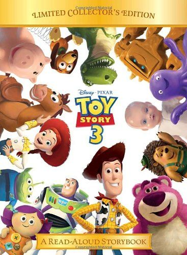 Toy Story 3 (Disney/Pixar Toy Story 3) (Read-Aloud Storybook) @ niftywarehouse.com #NiftyWarehouse #Toy #Story #Movie #ToyStory #Pixar