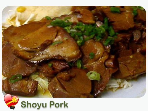 Two Delicious Shoyu Pork Recipes  A local favorite plate lunch dish. Here are two delicious shoyu pork recipes you can try at home. Enjoy!
