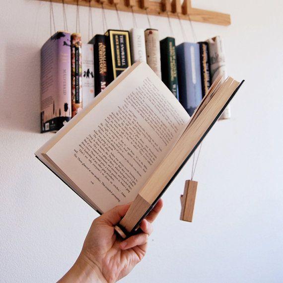 Estante de libro de madera por encargo / por AGUSTAVfurniture