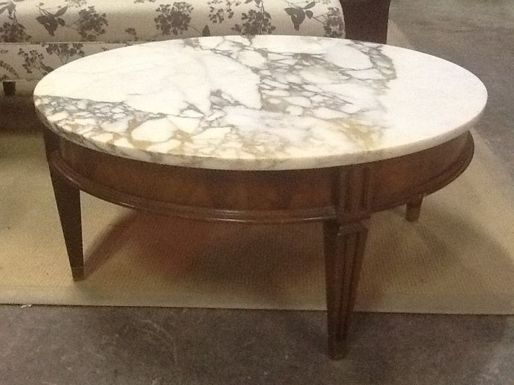 Rd Marble Coffee Table | The Millionaire's Daughter