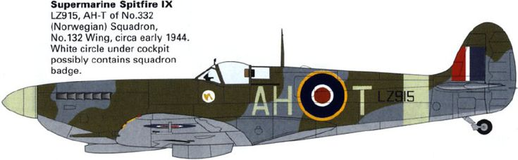 The No 331 and No 332 Norwegian RAF Fighter Squadrons scored many air victories: 180 confirmed destroyed, 35 probables and more than 100 damaged.