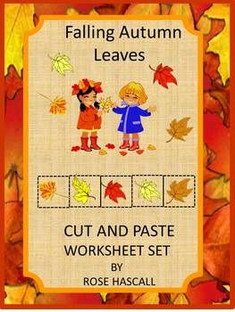 Cut and paste, Autumn leaves and In the fall on Pinterest
