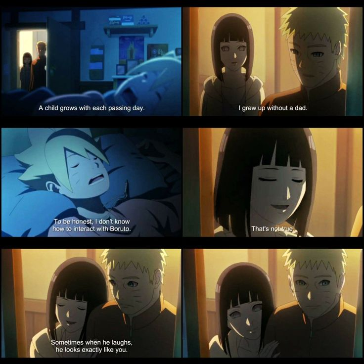 From Boruto - Episode 10 ♥♥♥ Naruto and Hinata are so close, that's a rare view ♥ #parents #oldgeneration