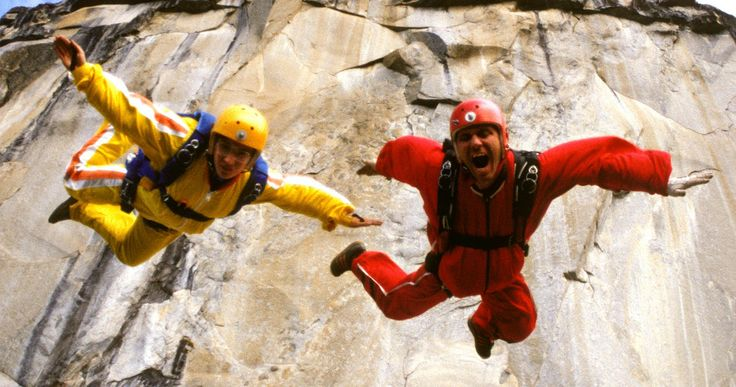 'Sunshine Superman' Clip: The History of BASE Jumping | EXCLUSIVE -- Carl Boenish takes us through the early history of the BASE jumping movement in our exclusive clip from the documentary 'Sunshine Superman'. -- http://movieweb.com/sunshine-superman-movie-clip-base-jumping/