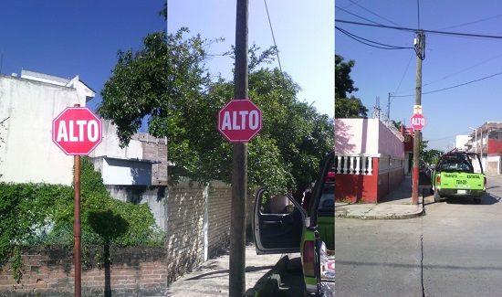 Tránsito del estado en Poza Rica mejora la señalética para prevenir accidentes - http://www.esnoticiaveracruz.com/transito-del-estado-en-poza-rica-mejora-la-senaletica-para-prevenir-accidentes/